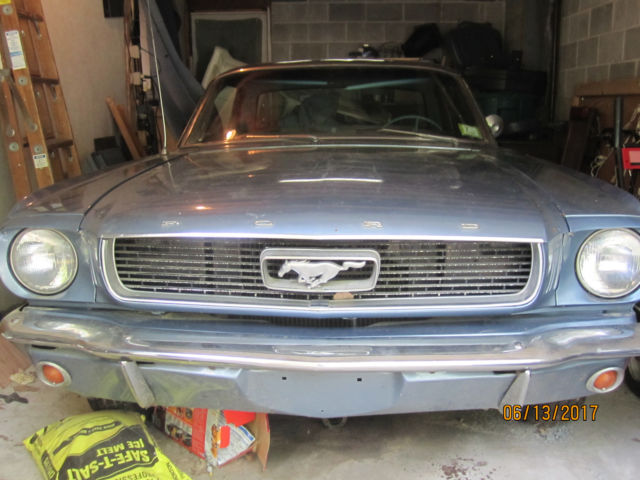 1966 Mustang 6 Cyl Auto Trans Rare Bench Seat For Sale