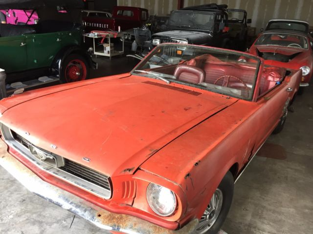 1966 mustang convertible 289 automatic v8 one owner no reserve florida car for sale ford. Black Bedroom Furniture Sets. Home Design Ideas