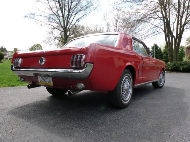 1966 mustang coupe k code engine for sale ford mustang 1966 for sale in leola pennsylvania. Black Bedroom Furniture Sets. Home Design Ideas