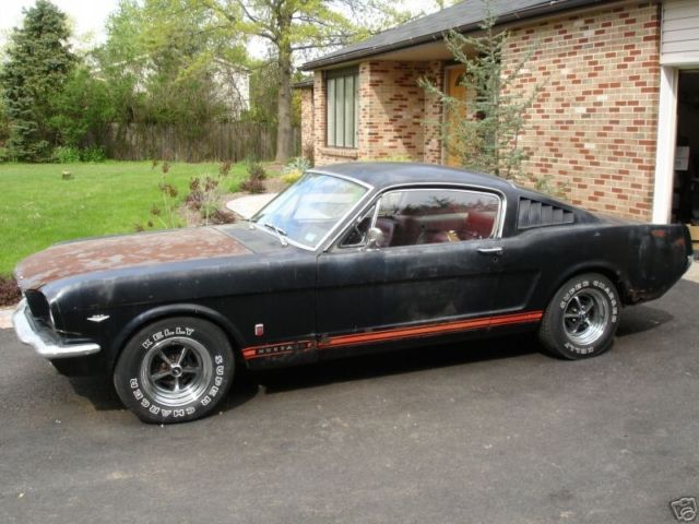 1966 mustang fastback gt all original for sale ford mustang 1966 for sale in memphis. Black Bedroom Furniture Sets. Home Design Ideas