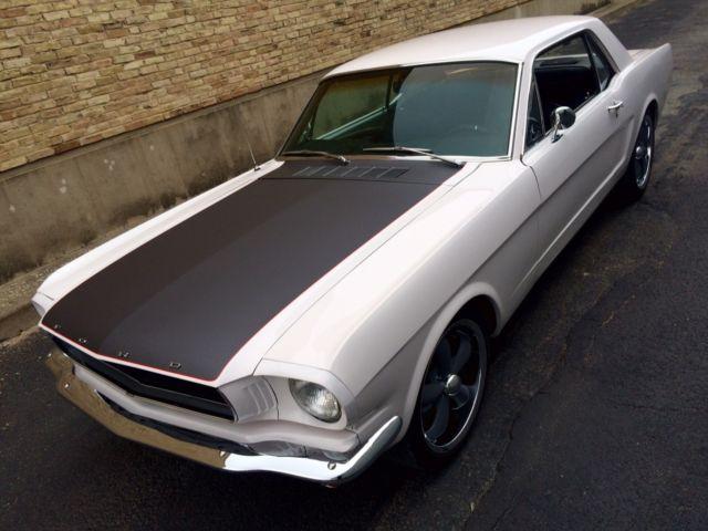 1966 Mustang Restomod 5 0 Efi Aod 4 Wheel Discs Custom