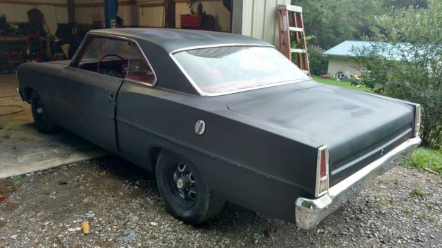 1966 Nova 2 Door Hardtop Project Car for sale - Chevrolet