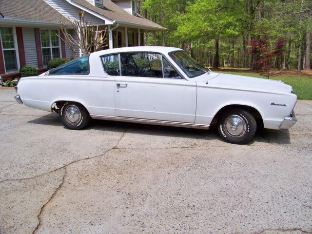 1966 Plymouth Barracuda! NO RESERVE!! Mopar Dodge Cuda for sale