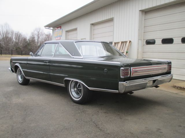 1966 Plymouth Satellite Factory 383 4 Speed Original
