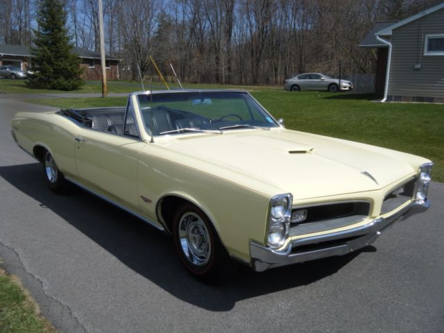 1966 Pontiac Gto Beautiful Original Convertible Like 1964 1965 1967 Must See For Sale Pontiac Gto 1966 For Sale In Liverpool New York United States