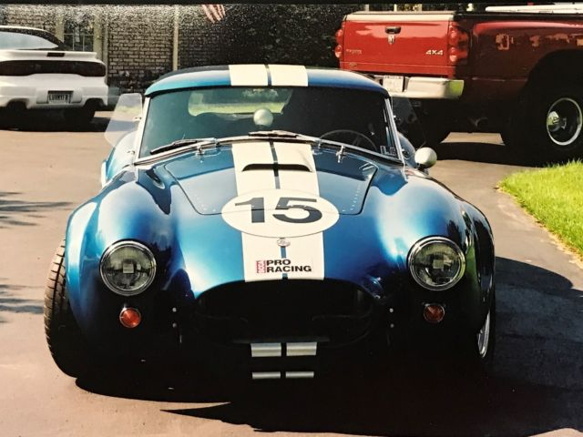 1966 Shelby 427 Cobra Roadster Replicar W  Hardtop For Sale