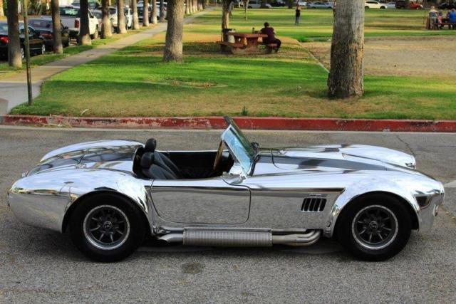 1966 shelby cobra cobra high end build 550 miles rare 596 miles silver conver for sale. Black Bedroom Furniture Sets. Home Design Ideas