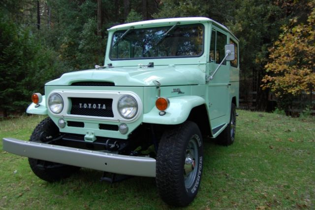 1966 Toyota Land Cruiser FJ40, Body off restore, (extra