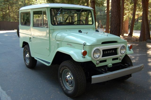 1966 Toyota Land Cruiser - Full Body Off Restoration (stainless nuts