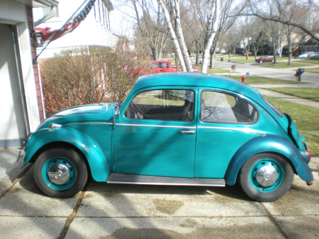 1966 Volkswagen Beetle Classic VW For Parts or Rat Rod for