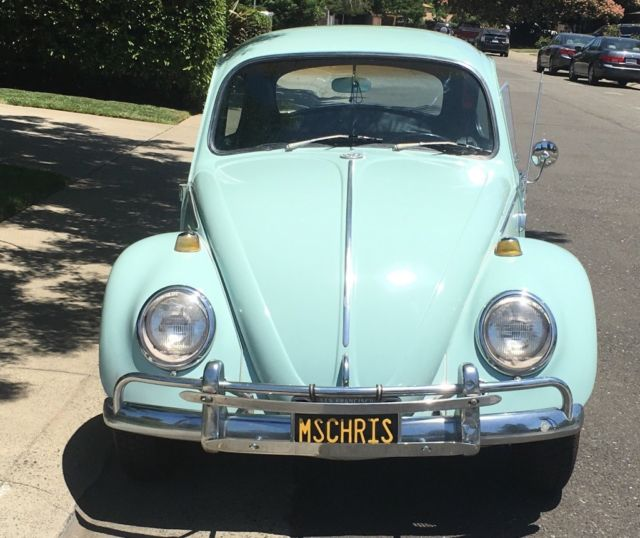 Volkswagen Bug For Sale: 1966 Volkswagen Beetle Deluxe Model # 113 For Sale