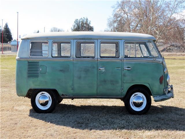 volkswagon deluxe bus  wheels original engine emblem headlights solid  sale