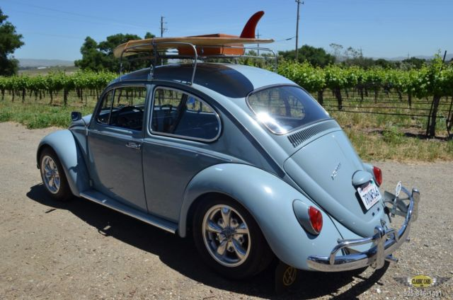 1966 vw beetle beautifully restored west coast car numbers match upgrades for sale. Black Bedroom Furniture Sets. Home Design Ideas
