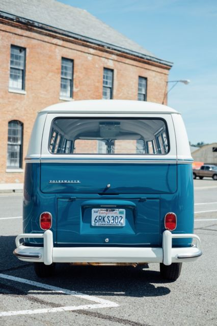 1966 vw split window microbus straight clean with new engine for sale volkswagen bus. Black Bedroom Furniture Sets. Home Design Ideas