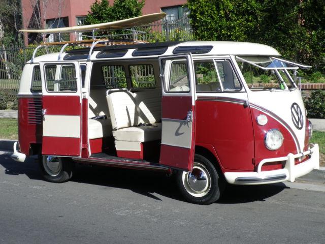 1967 21 window vw bus samba for sale volkswagen bus vanagon 21 window 1967 for sale in los. Black Bedroom Furniture Sets. Home Design Ideas