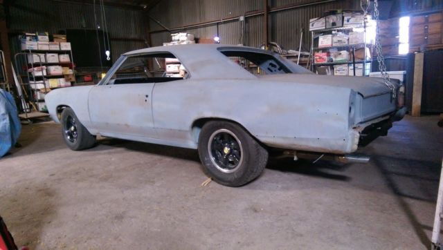 1967 67 Chevrolet Chevelle SS Super Sport Project Car for sale