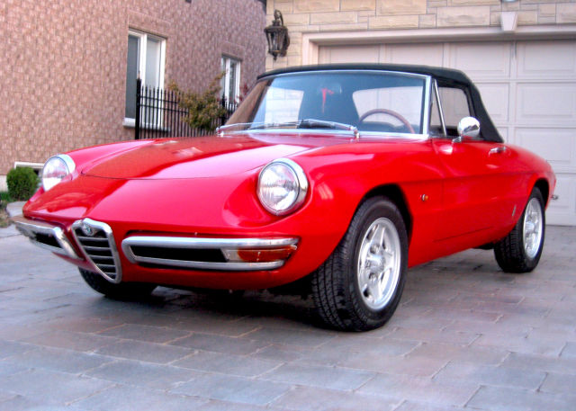Alfa Romeo Duetto Spider Convertible Door L For Sale - 1967 alfa romeo spider for sale