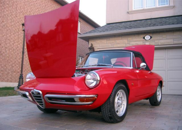 1967 Alfa Romeo Duetto Spider Convertible 2-Door 2.0L For
