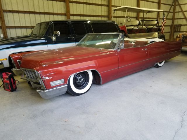 1967 bagged cadillac convertible for sale cadillac. Black Bedroom Furniture Sets. Home Design Ideas
