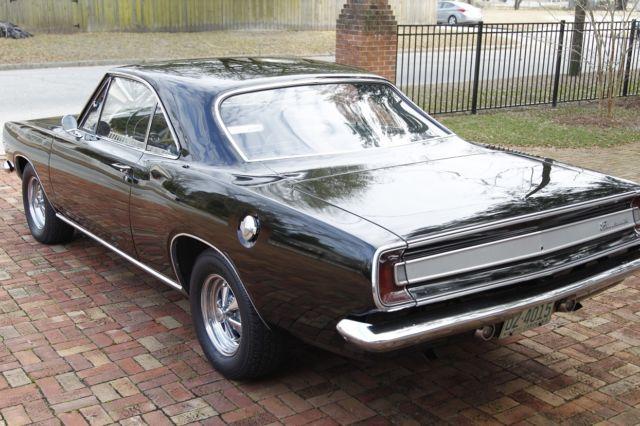 1967 Barracuda Notchback, Fresh Paint, Fresh interior, Fresh