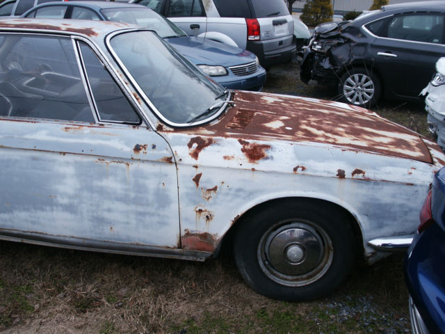 1967 Bmw 2000cs Coupe Restoration Project 67 Bmw 2000cs Parts Car Two 4 One For Sale Bmw