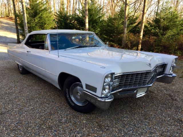 1967 cadillac convertible for sale cadillac deville. Black Bedroom Furniture Sets. Home Design Ideas