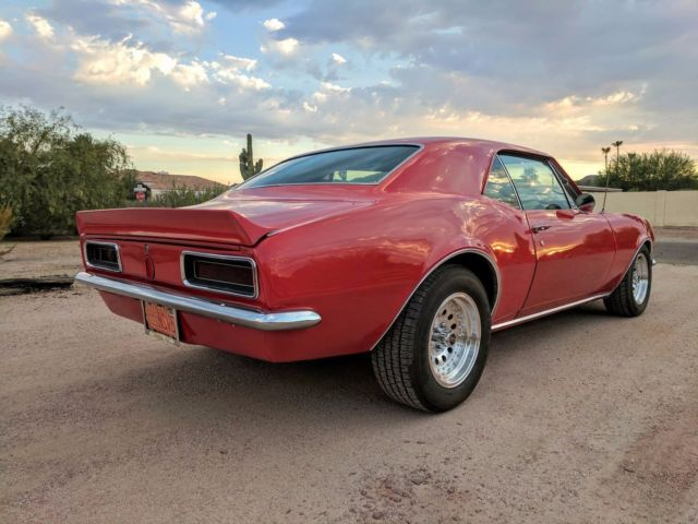 1967 camaro automatic power options red rs ss z28 for sale. Black Bedroom Furniture Sets. Home Design Ideas