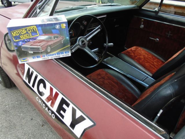 1967 Camaro Rs Ss 427 Quot Nickey Quot 4 Speed Barn Find Muscle 1968 1969 1970 Not Z28 For Sale