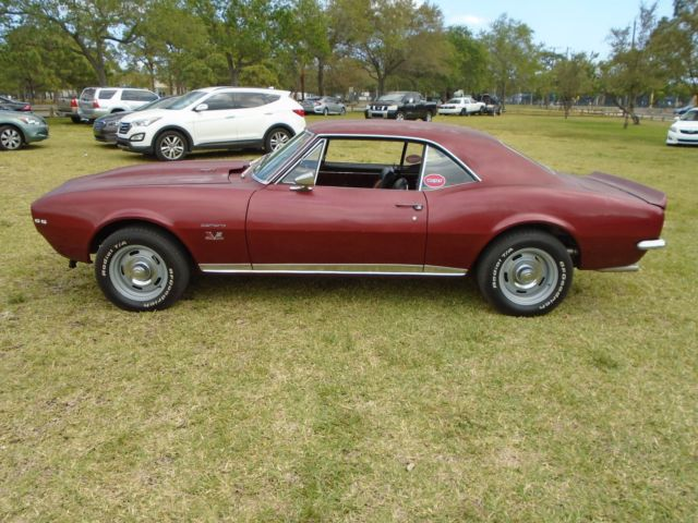 1967 Camaro Rs Ss 427 Quot Nickey Quot 4 Speed Barn Find Muscle