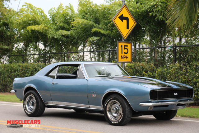1967 Camaro Rs Ss 454 Bb Florida Car For Sale Chevrolet