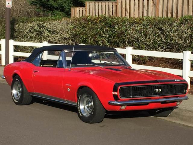 1967 camaro rs ss convertible original 39 s matching 350. Black Bedroom Furniture Sets. Home Design Ideas