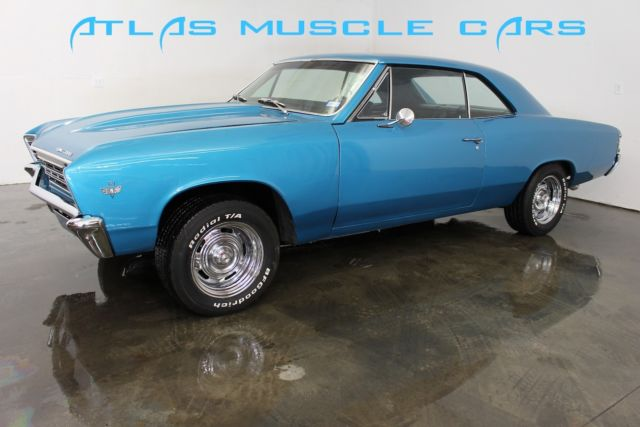1967 Chevelle SBC bucket seats console disc brakes power steering