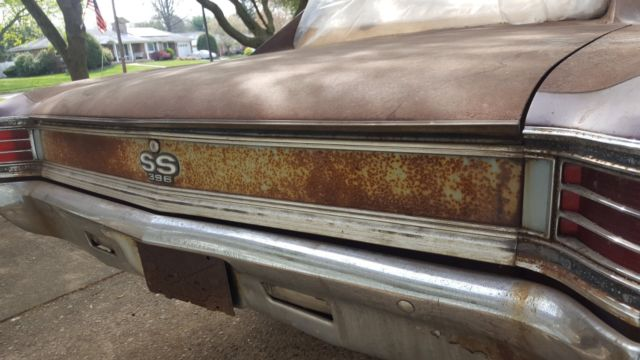 1967 Chevelle Ss396 Project Car For Sale Chevrolet