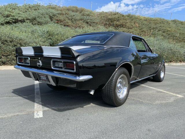 1967 Chevrolet Camaro SS 396 Clone 517 Miles Black Coupe 4