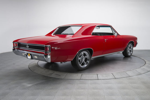 1967 chevrolet chevelle super sport 3788 miles victory red hardtop 396 v8 5 spee for sale. Black Bedroom Furniture Sets. Home Design Ideas