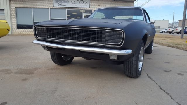 1967 Chevrolet Chevy Camaro Rs Original Matching Numbers 327 V8 4 Speed Black For Sale