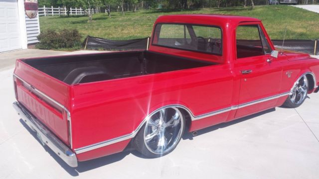 1967 chevy c10 air ride custom truck chevrolet pick up bagged 68 69 70 71 72 for sale. Black Bedroom Furniture Sets. Home Design Ideas