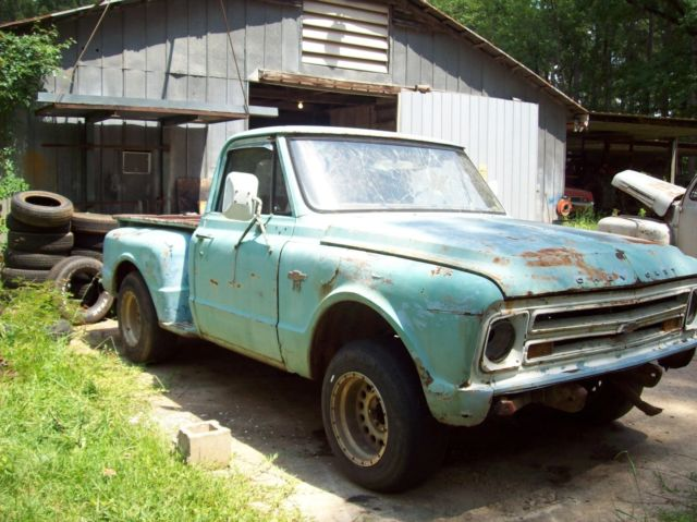 67 short bed chevy