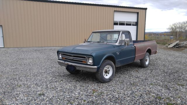 1967 chevy C20 3/4 ton 4x4 truck for sale - Chevrolet C/K