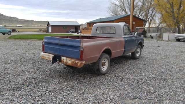 1967 chevy c20 3 4 ton 4x4 truck for sale chevrolet c k pickup 3500 c20 1967 for sale in. Black Bedroom Furniture Sets. Home Design Ideas
