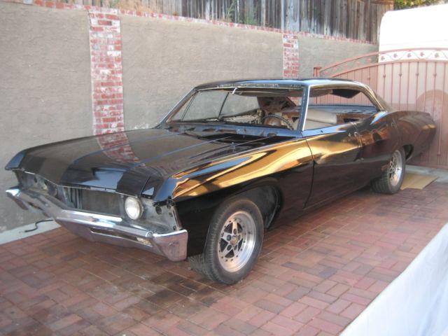 1967 chevy impala 4 door hardtop supernatural project car 67 impala four door for sale. Black Bedroom Furniture Sets. Home Design Ideas