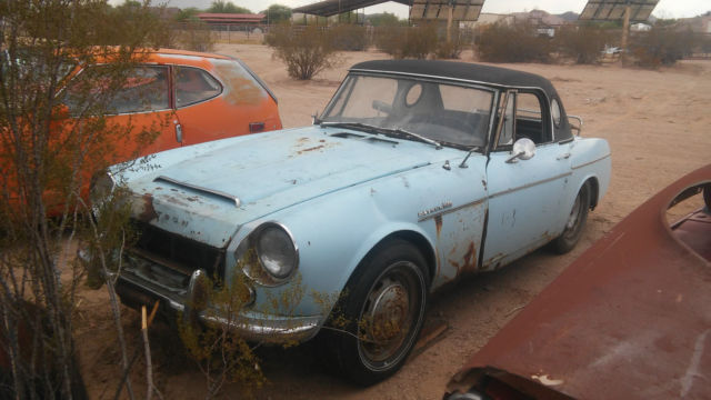 1967 Datsun 1600 Fairlady convertible project or parts car