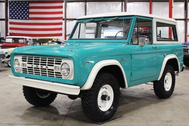 ford bronco manual transmission for sale