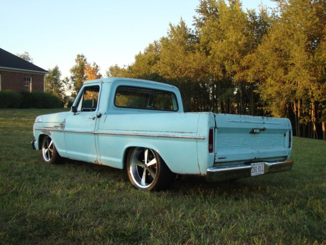 1967 Ford F-100 Pickup Patina Crown Vic Suspension 4 6 2