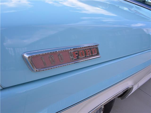 1967 Ford F100 Ranger 43,544 Miles Blue and White Truck 352
