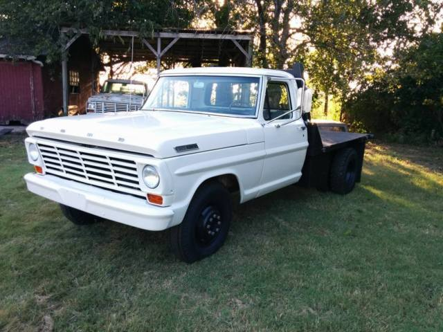 1967 Ford F350 Dually Flat Bed With Braden Winch. LOTS of ...