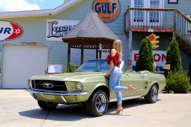 1967 Ford Mustang Convertible 289 Automatic Power Disc