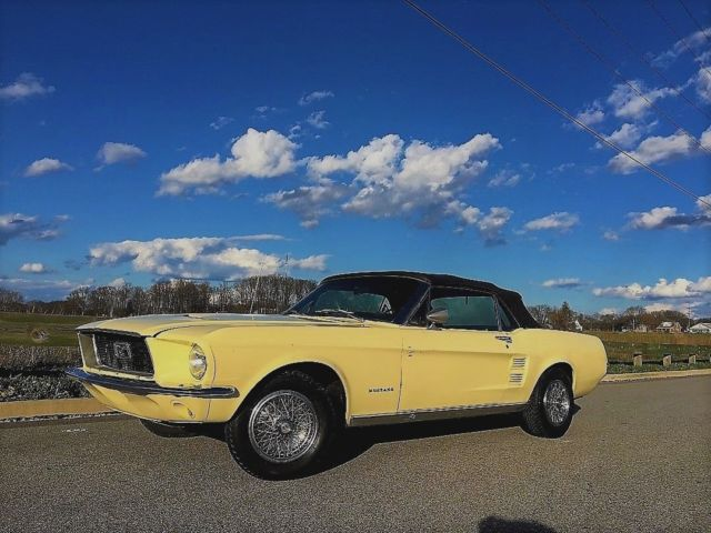 1967 ford mustang convertible nice driver 1968 1966 1965 1969 for sale ford mustang base 1967. Black Bedroom Furniture Sets. Home Design Ideas