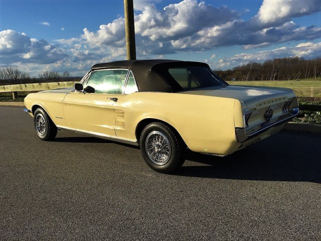 1967 Ford Mustang Convertible Nice Driver 1968 1966 1965