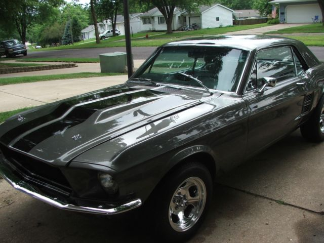 1967 Mustang Coupe Restoration